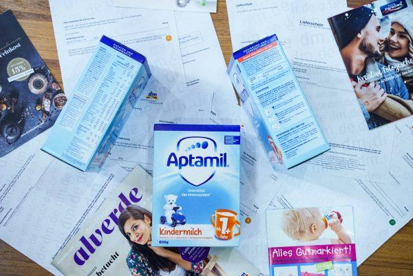 sữa aptamil KINDER MILCH 1+